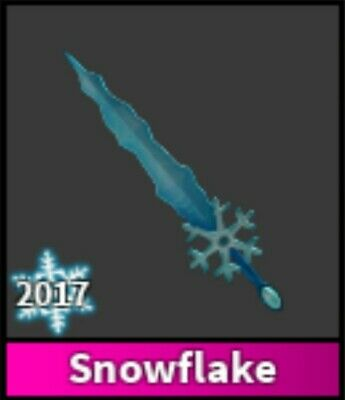 Roblox Murder Mystery 2 Mm2 Snowflake Godly Knife Read Desc - Mm2 Godly Snowflake Good Demand Rarity Desc Fast Delivery Ebay