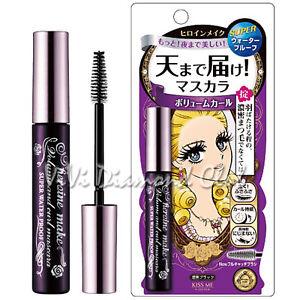 429439688f1 Japan Kiss Me Heroine Make VOLUME Curl Super Waterproof Mascara 6g ...