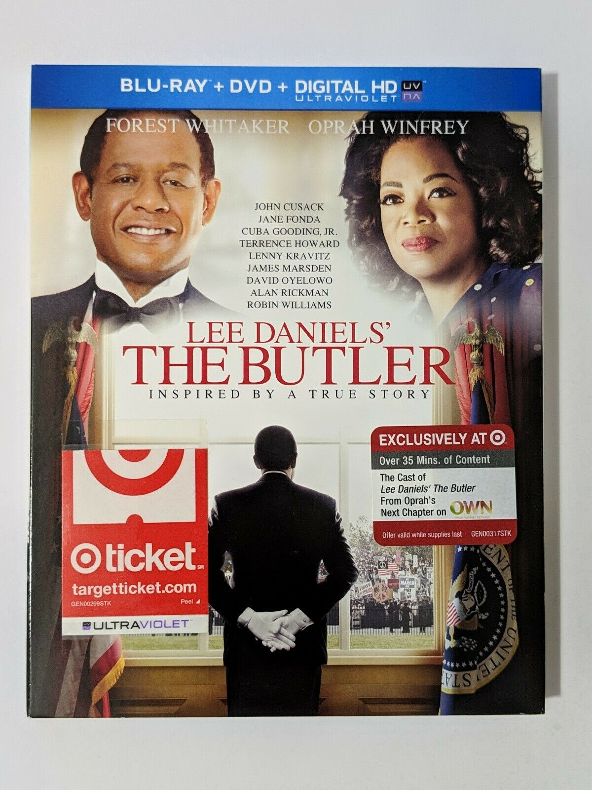 Lee Daniels The Butler Target Exclusive Blu Ray Dvd 2013 Brand New Sealed For Sale Online