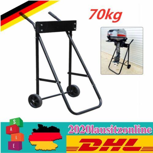 70kg Außenbordmotor Transportwagen Engine Trolley Wagen Bootsmotorständer SALE