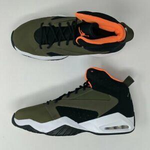 Nike-Jordan-Lift-Off-Olive-Canvas-Cone-Orange-Mens-AR4430-300-New