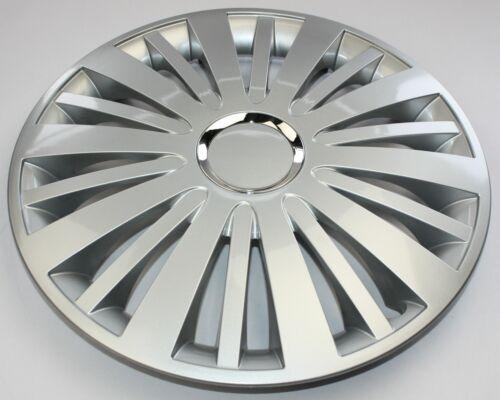 Radkappen Radzierblenden universal 4er PACK 16 Zoll Falcon silver