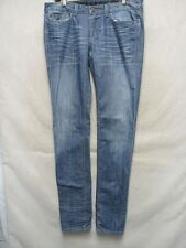 F2486 William Rast Stretch Ultra Skinny Killer Fade Jeans Women's 35x34