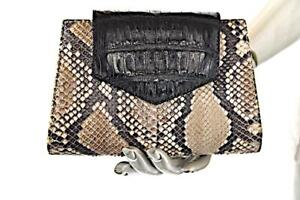 950 5 Black Adriana Natural Bag Natural Crocodile 5 950 Silver Python Clutch Chain Cadena Black Python plata Adriana de Clocodile Clutch Castro Castro Bag vpxSqpw4