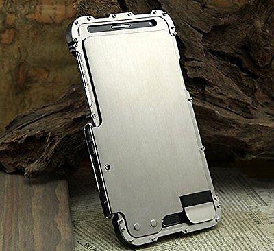 Armor King Luxury Shockproof Stainless Steel Metal Flip Case For iPhone Models