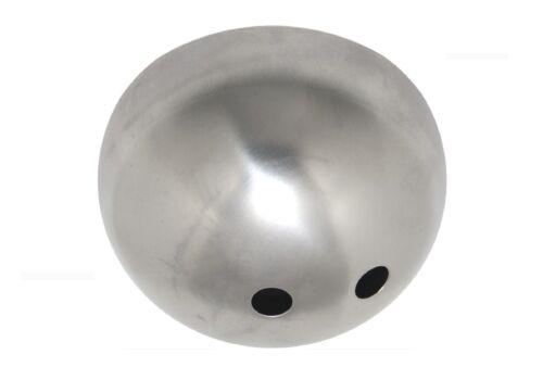 1//3 Stück Baldachin 2-Loch 100x50 Kugelform Eisen roh//veredelt Lampenbaldachin
