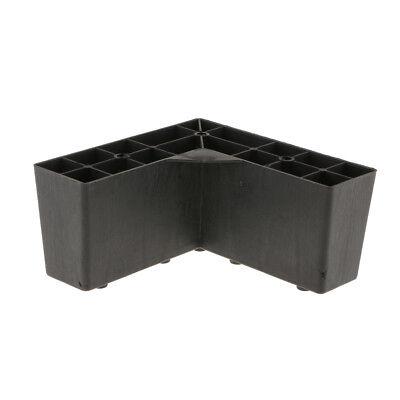 2 Furniture Replacement Parts Anti-damp Sofa Legs Cabinet Drawer Plinth Feet