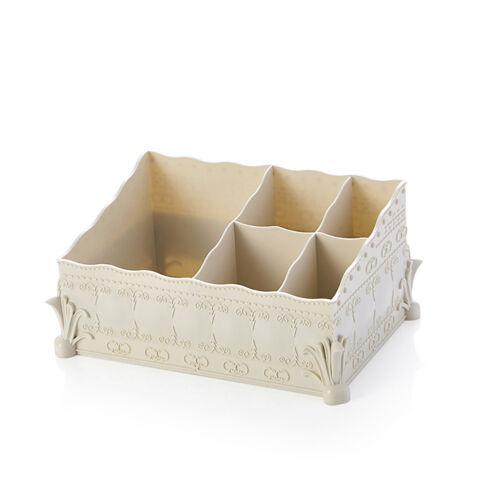 Reino Unido /_ lc /_ Belleza Caja de almacenamiento de oficina en Casa Contenedor Maquillaje Cosmético Organizador De Escritorio