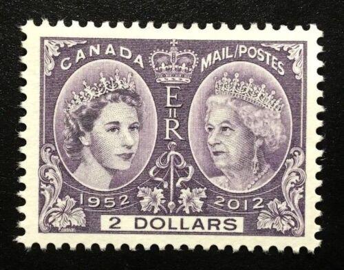 Canada #2540 MNH, Queen Elizabeth II Diamond Jubilee Stamp 2012