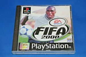 FIFA-2000-Sony-PlayStation-1-Game-PS1-PAL-TESTED-PS1-PS2-Black-Label