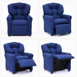 Marvelous Details About Child Size Traditional Royal Blue Recliner Chair Kids Toddler Furniture 3 7 Yea Pdpeps Interior Chair Design Pdpepsorg