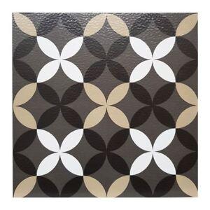 FloorPops-Clover-Pack-Of-10-Peel-amp-Stick-Vinyl-Floor-Tiles-Grey-Beige-White