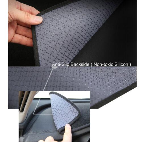 Anti-Slip Black Dashboard Mats Dash Mat for 2011 ~ 2019 Mitsubishi ASX RHD