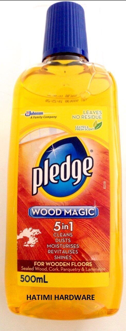 Pledge Wood Magic 5in1 500ml Wooden Floor Cleaner 9300622315805 Ebay