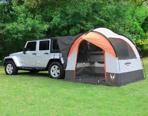 Suv Up To Hook Tents That