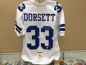 low priced 215e0 64be7 Details about Tony Dorsett Signed Autograph Auto Custom Cowboys Jersey JSA  Coa