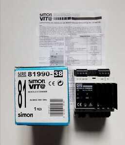 Simon Vit@ Vita 81990-38 MÓdulo Dimmer 24vdc 2 Salidas 230v 72mm/4 Módulos