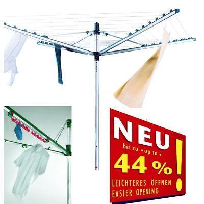 Leifheit - Wäschespinne Linomatic V 400 + Easyclip