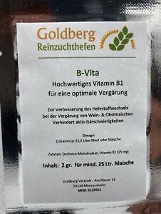 B-Vita-Vitamin-B1-fuer-Obstmaischen-2-gr-Portion-fuer-25-Ltr-Most-oder-Maische