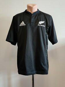 Miguel Ángel Contemporáneo Expulsar a  Camiseta Adidas Rugby Camisa Nueva Zelanda All Blacks Hogar 2007/2008/2009  shirt Sz M   eBay