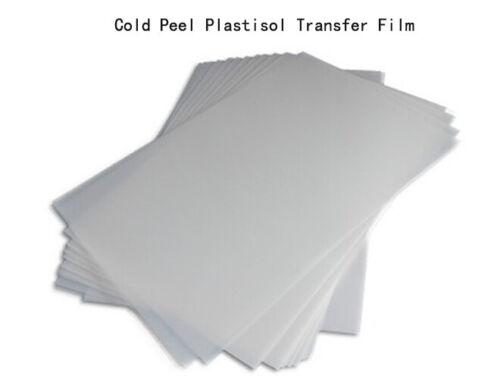 Free shipping new Cold Peel Plastisol Transfer Film for screen printing DIY