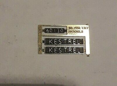 00 Gauge 4mm nameplate:60130 /'Kestrel/' LNER A1
