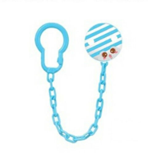 Baby Kid Dummy Pacifier Soother Nipple Strap Chain Clip Holder Toy Gift C