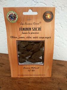 Encens-rare-Feminin-sacre-unite-corps-esprit-ingredients-naturels-equitable-n-89