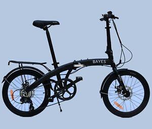 "Bayes Tyre 20"" Aluminium Disc Brakes 8 Speed Shimano Folding Folding Bike"