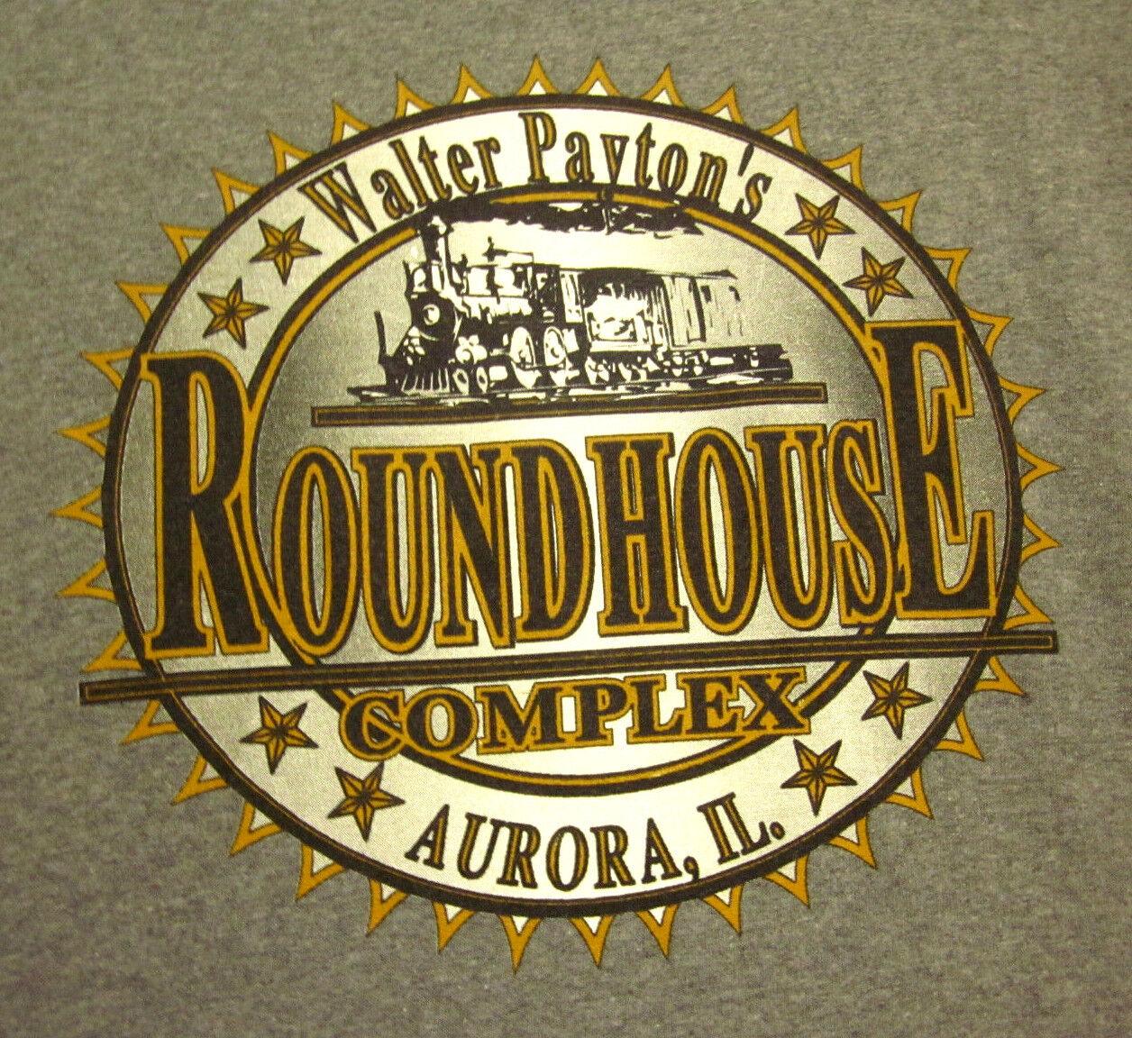 WALTER PAYTON lrg T shirt Round House Complex tee Aurora football Illinois 1990s