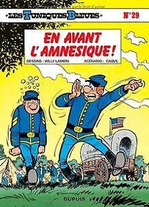 Les-Tuniques-bleues-tome-29-En-avant-l-039-amnesique-Livre-etat-acceptable