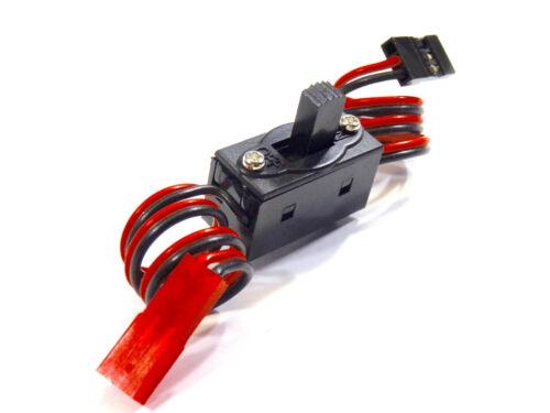 4x Schalterkabel RC Ein Aus Schalter Powerschalter Empfänger Lipo JR JST Stecker