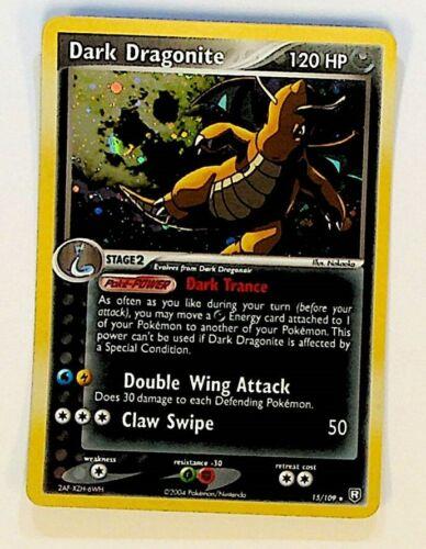 Pokemon Dark Dragonite Holo Foil Rare Team Rocket Returns 15/109