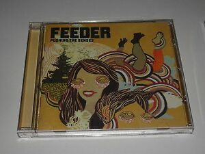 Feeder  Pushing the Senses  CD Album - Whitstable, United Kingdom - Feeder  Pushing the Senses  CD Album - Whitstable, United Kingdom