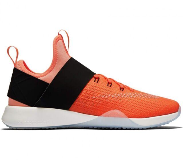 wmns nike air zoom forte arancione nero la formazione di donne scarpe