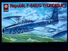 REPUBLIC F-84 E/G THUNDERJET, ZTS PLASTYK S-135, SCALE 1/72