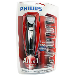 philips qg3050 allin1 professional set trimmer clipper hair beard grooming g370 ebay. Black Bedroom Furniture Sets. Home Design Ideas