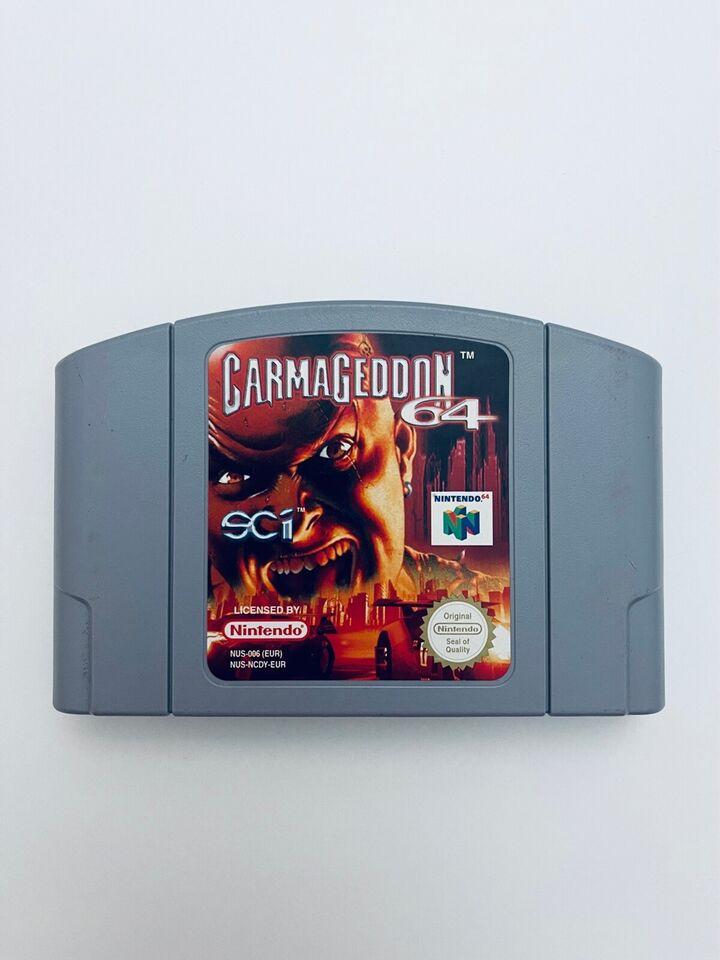 Carmageddon 64, N64