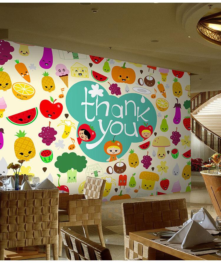 3D Bunte Früchte Und Gemüse 9 Tapete Wandgemälde Tapete Tapeten Bild Familie DE