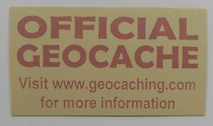 3-x-Cache-stickers-for-Geocaching-pink-print-on-light-brown-sticker