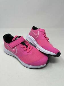 NEW Girl's Pink Nike Star Runner 2 (PSV) AT1801-603 Running Shoes Size 3Y #US