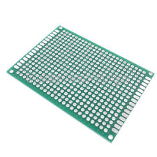ST3U StripBoard-3U 100 x 160 mm Uncut Strips 1 Sided PCB BusBoard Prototype Systems 3.94 x 6.30 in
