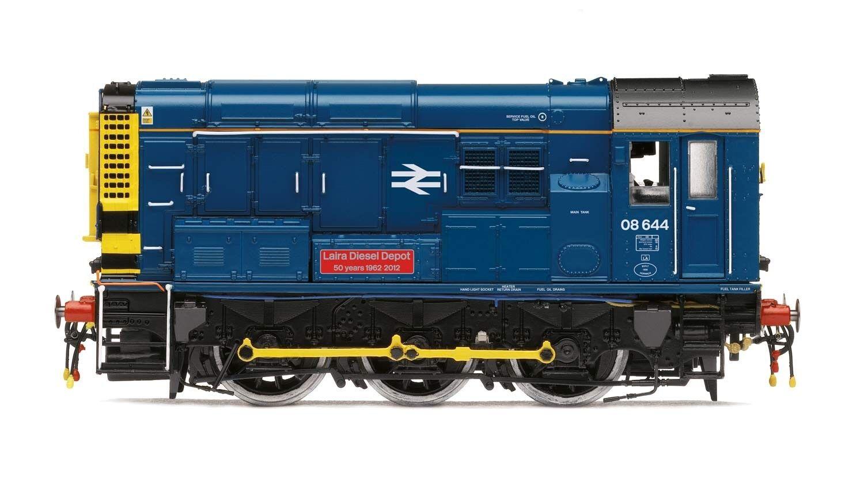 Hornby Carril Británico 0 6 0' Laira Diesel Depósito' Clase 08 Oo Locomotora