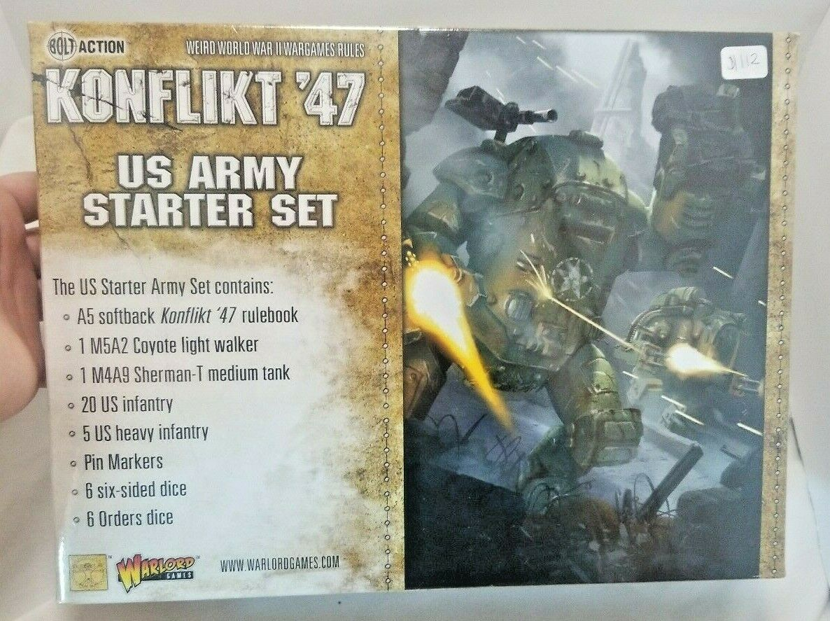 Warlord Games  Bolt Action Konflikt '47 US Army Starter Set