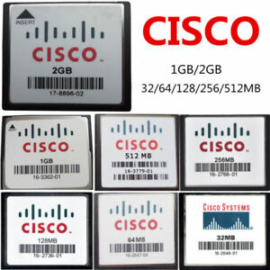 CISCO-CF-32MB-64MB-128MB-256MB-512MB-1GB-2GB-Tarjeta-de-Memoria-CompactFlash