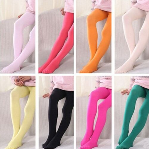 15 Candy Color Baby Girl Children Tights Hosiery Pantyhose Ballet Dance Stocking