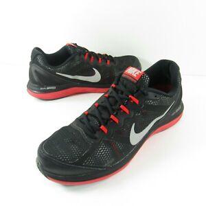 Pinchazo Anticuado Positivo  Nike Dual Fusion Run 3 Hombre Talla 11.5 Negro Rojo Zapatillas Para Correr  653596 003 | eBay