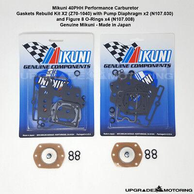 54 jeep solex carburetor diagram mikuni 40phh carb gaskets rebuild kit x2 w pump diaphragm fig 8  mikuni 40phh carb gaskets rebuild kit