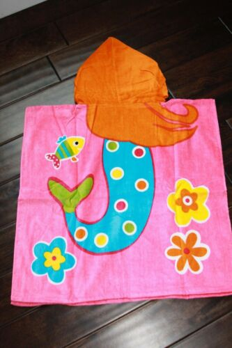 Boys Girls Toddler New Child ~ Pool Beach or Bath Hooded Character Towel  NWT