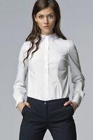 Chemise Blanche Femme Manches Longues Haute Qualité K43 Nife 36 38 40 42 44